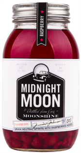 Midnight Moon Junior Johnson's Raspberry Moonshine...